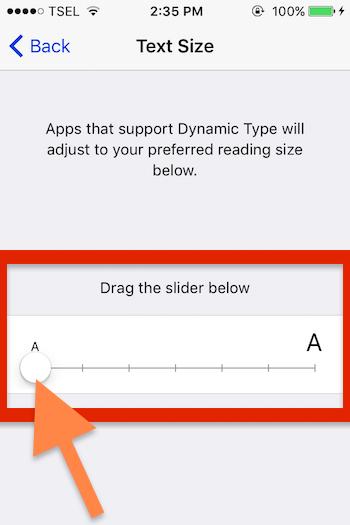 Cara Membuat Font Pada Teks Pesan Sms Lebih Besar Di Iphone 2