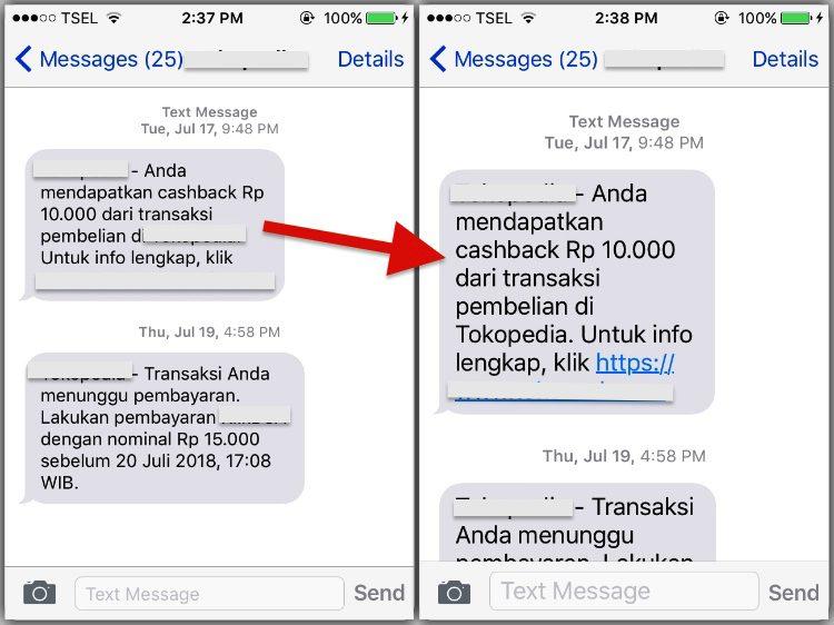 Cara Membuat Font Pada Teks Pesan Sms Lebih Besar Di Iphone 3