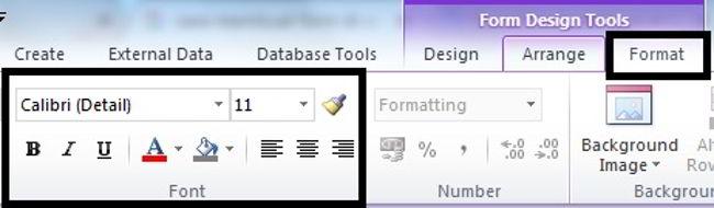 Cara Membuat Form Di Microsoft Access 2010 11