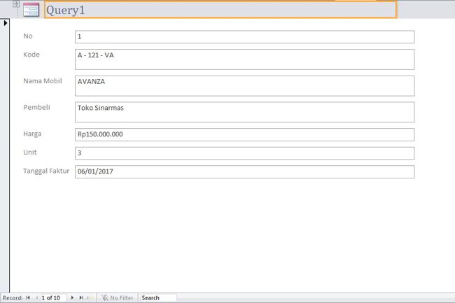 Cara Membuat Form Di Microsoft Access 2010 15