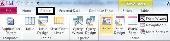 Cara Membuat Form Di Microsoft Access 2010 16