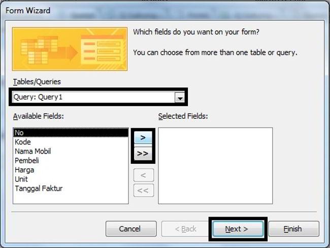 Cara Membuat Form Di Microsoft Access 2010 17
