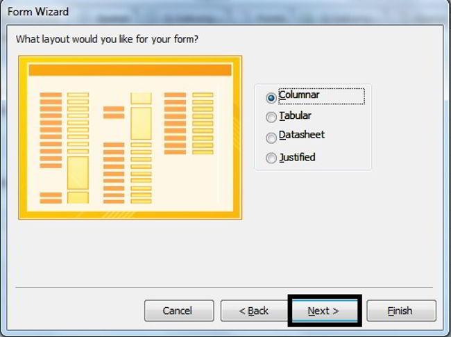 Cara Membuat Form Di Microsoft Access 2010 18