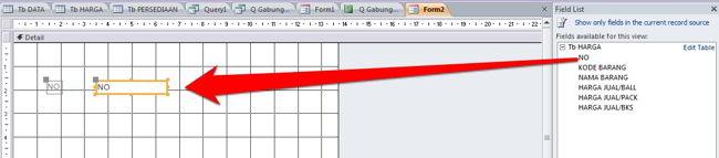 Cara Membuat Form Di Microsoft Access 2010 5