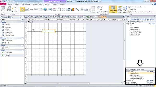 Cara Membuat Form Di Microsoft Access 2010 6