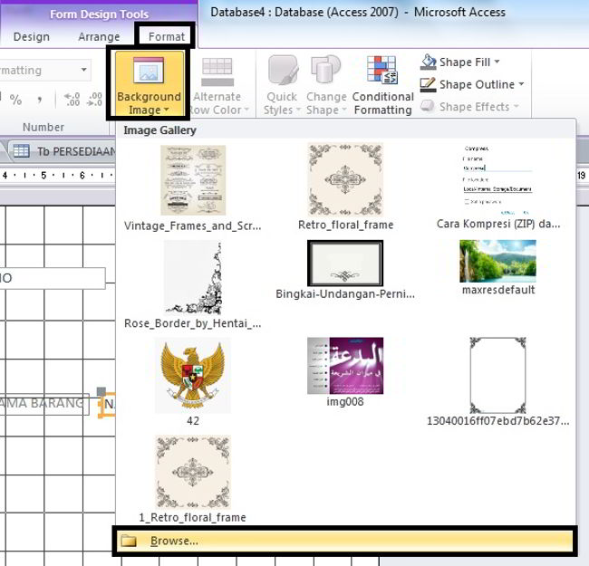 Cara Membuat Form Di Microsoft Access 2010 9