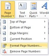 Cara Membuat Penomoran Halaman Yang Berbeda Di Ms Word 2010 2