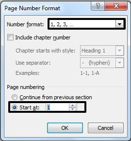 Cara Membuat Penomoran Halaman Yang Berbeda Di Ms Word 2010 3