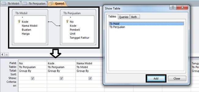 Cara Membuat Query Di Microsoft Access 2010 2