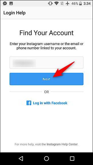 Cara Memulihkan Kata Sandi Akun Instagram Yang Terlupakan 7