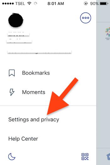 Cara Mengaktifkan Night Mode Di Aplikasi Twitter Untuk Iphone 1