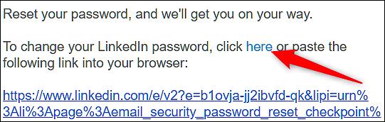 Cara Mengatasi Lupa Password Linkedin 4