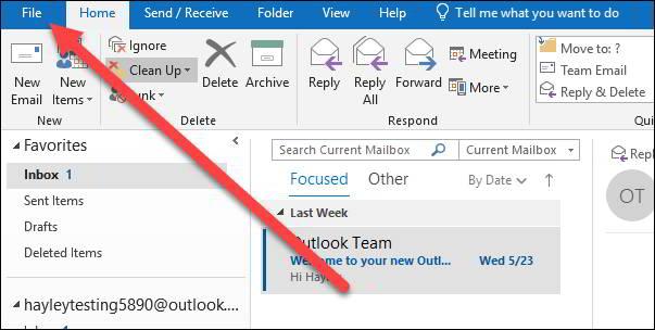 Cara Menggunakan Gmail Melalui Microsoft Outlook 6