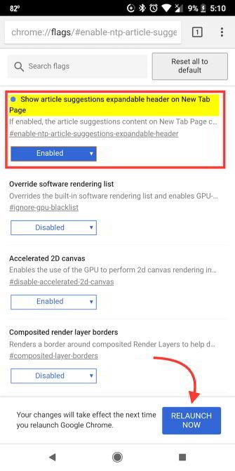 Cara Menghapus Artikel Yang Disarankan Di Chrome Pada Android 1