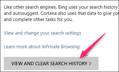 Cara Menghapus Riwayat Pencarian Di Bing 1