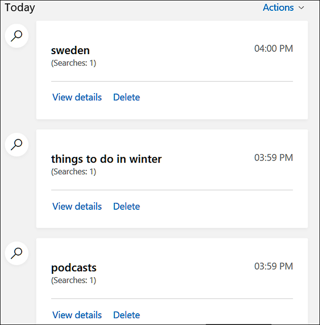 Cara Menghapus Riwayat Pencarian Di Bing 4