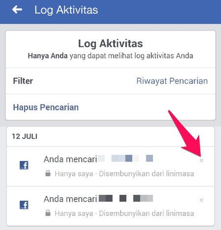 Cara Menghapus Riwayat Pencarian Di Facebook R10