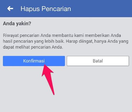Cara Menghapus Riwayat Pencarian Di Facebook R13