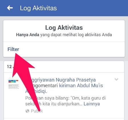 Cara Menghapus Riwayat Pencarian Di Facebook R8