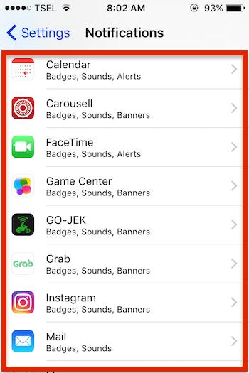 Cara Menghilangkan Ikon Notifikasi App Store Di Iphone Atau Ipad 3