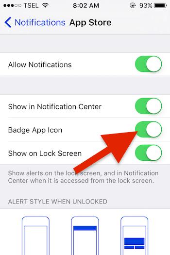 Cara Menghilangkan Ikon Notifikasi App Store Di Iphone Atau Ipad 4