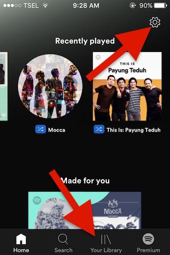 Cara Mengontrol Spotify Pada Perangkat Lain Dari Lock Screen Untuk Iphone 2