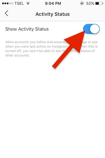 Cara Menonaktifkan Status Aktif Atau Online Di Instagram Untuk Iphone 3