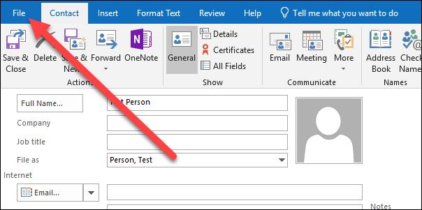 Cara Menyimpan Email Sebagai File Di Microsoft Outlook 13