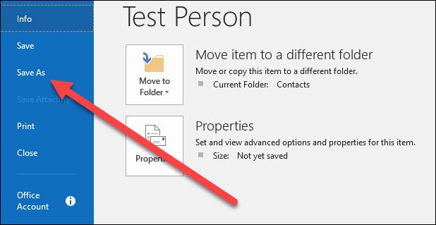 Cara Menyimpan Email Sebagai File Di Microsoft Outlook 14