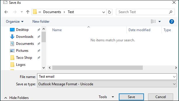 Cara Menyimpan Email Sebagai File Di Microsoft Outlook 4