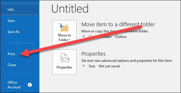 Cara Menyimpan Email Sebagai File Di Microsoft Outlook 8