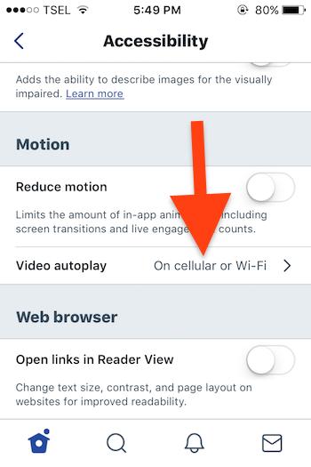 Cara Nonaktifkan Autoplay Video Pada Aplikasi Twitter Iphone 1