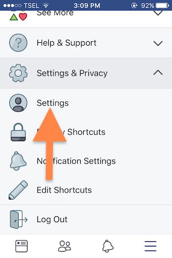 Cara Nonaktifkan Video Yang Diputar Otomatis Di Aplikasi Facebook Ios 3