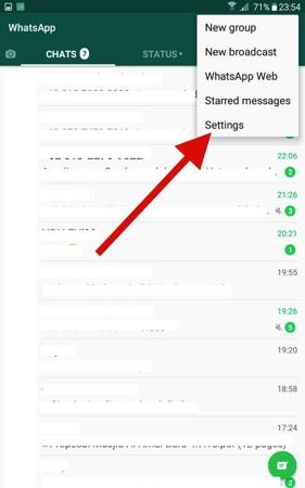 Cara Ubah Wallpaper Obrolan Whatsapp Di Android 1