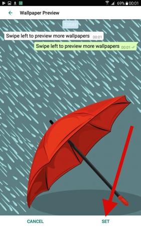 Cara Ubah Wallpaper Obrolan Whatsapp Di Android 11