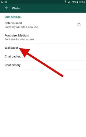 Cara Ubah Wallpaper Obrolan Whatsapp Di Android 3