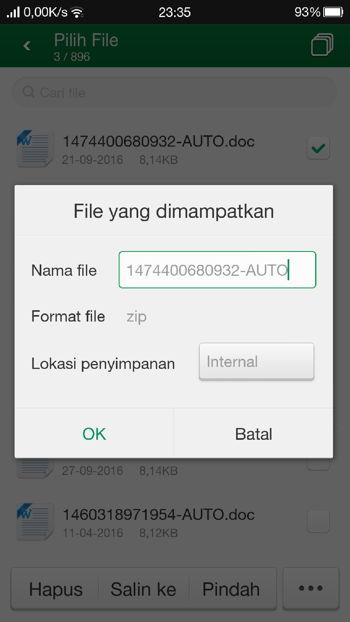 Cara Zip Dan Unzip File Atau Folder Di Android R2