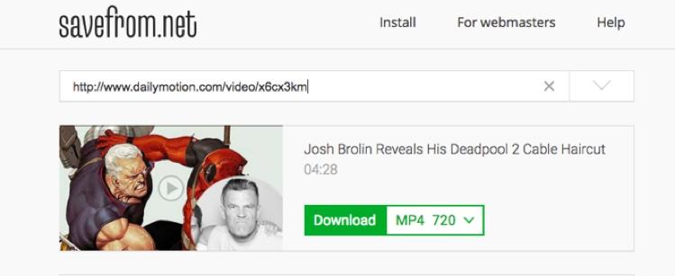 Cara Download Video Dari Dailymotion 1