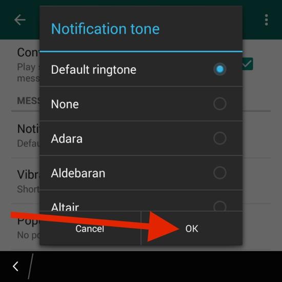 Cara Kustomisasi Suara Notifikasi Dan Nada Dering Di Whatsapp 15
