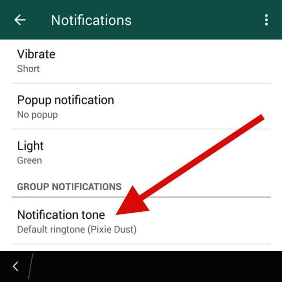 Cara Kustomisasi Suara Notifikasi Dan Nada Dering Di Whatsapp 16
