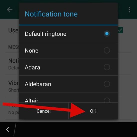 Cara Kustomisasi Suara Notifikasi Dan Nada Dering Di Whatsapp 6