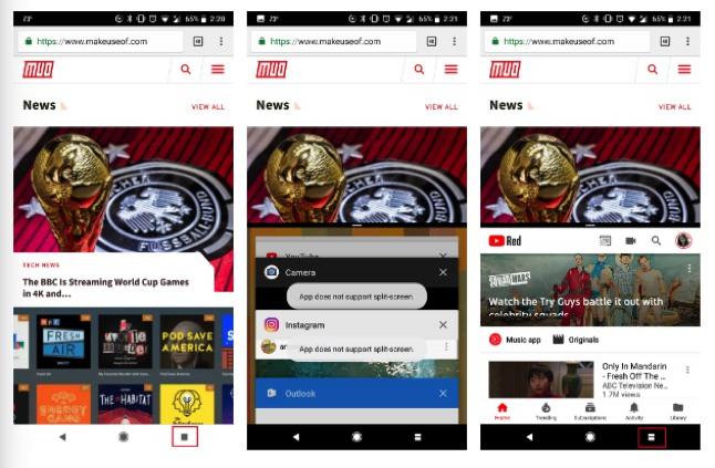 Cara Menggunakan Fitur Split Screen Mode Di Android 1