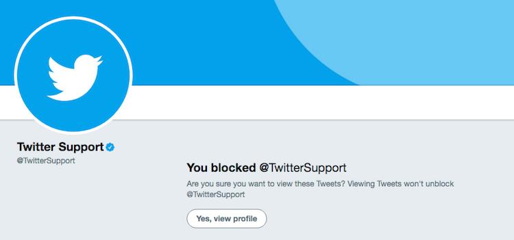 Blokir Akun Twitter