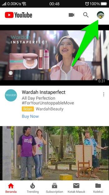 Cara Aktifkan Dark Mode Youtube Di Android 10