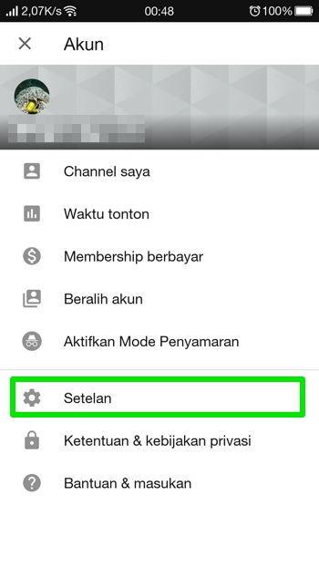 Cara Aktifkan Dark Mode Youtube Di Android 11