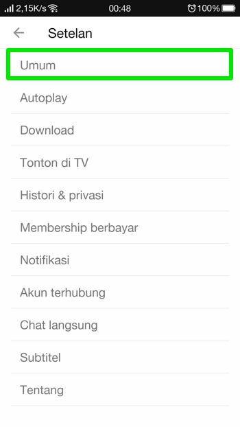 Cara Aktifkan Dark Mode Youtube Di Android 12