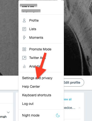 Cara Backup Semua Postingan Di Twittter