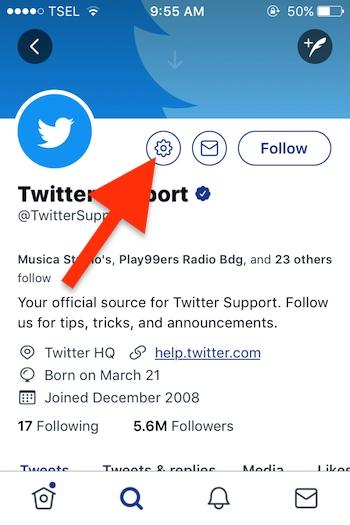 Cara Blokir Akun Seseorang Di Twitter 4