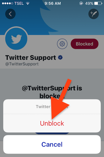 Cara Blokir Akun Seseorang Di Twitter 8