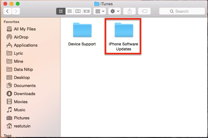 Cara Hapus File Backup Iphone Dari Itunes 5